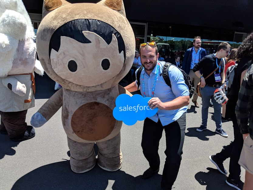 Salesforce and In Marketing We Trust at StartCon